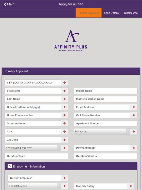 Affinity Plus Online >> Affinity