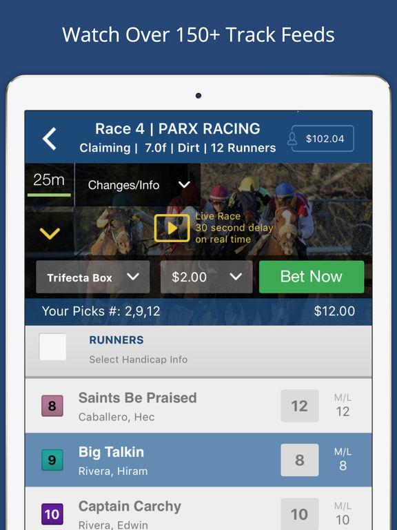 tvg horse racing app