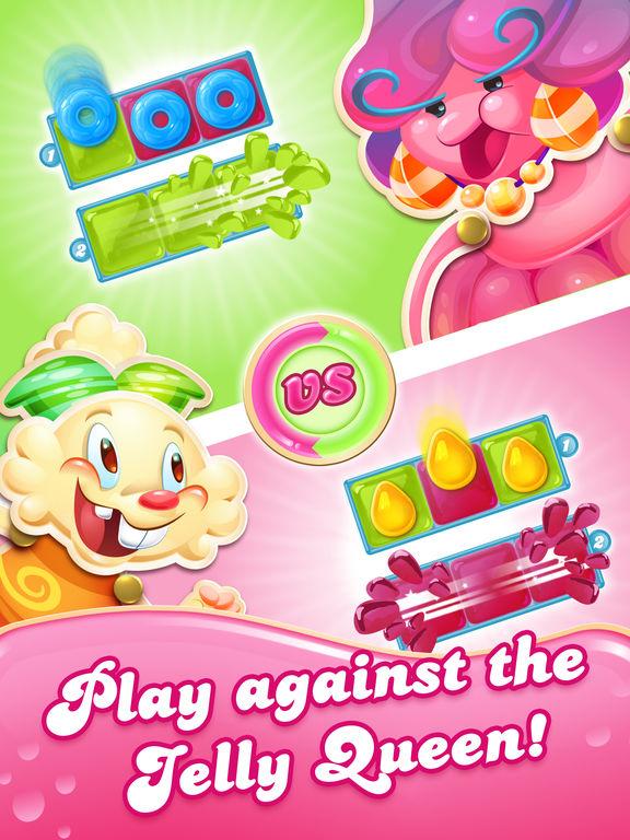 Screenshots of Candy Crush Jelly Saga for iPad
