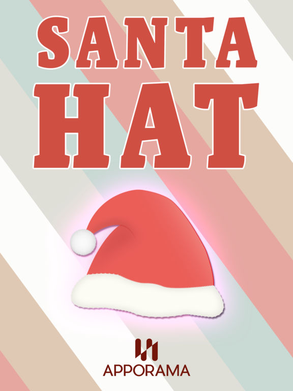 Santa hat sticker by ludvigsson link ab