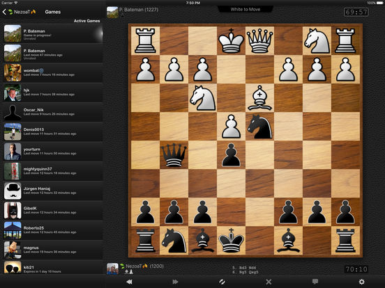 4 player chess app for iphone
