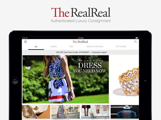The RealReal - Buy+Sell Luxury screenshot