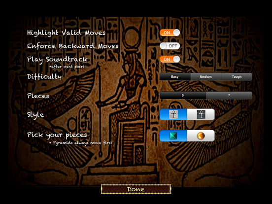 Senet Deluxe HD iPad Screenshot 5
