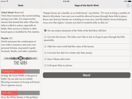 Скачать игру Saga of the North Wind