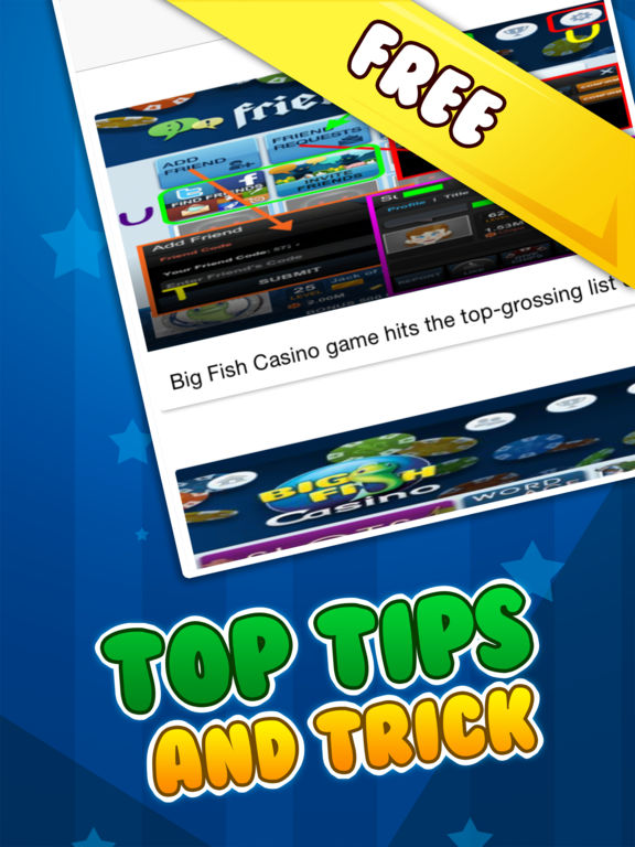Big fish casino app hack