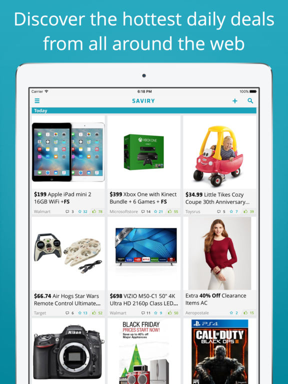 Saviry - Deals, Freebies, Sales - best online shopping FREE screenshot