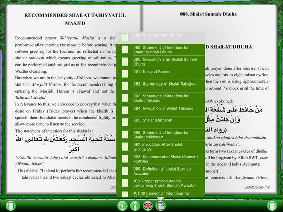SalatGuide Pro for iPad iPad Screenshot 5