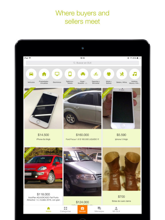 how to sell on olx app