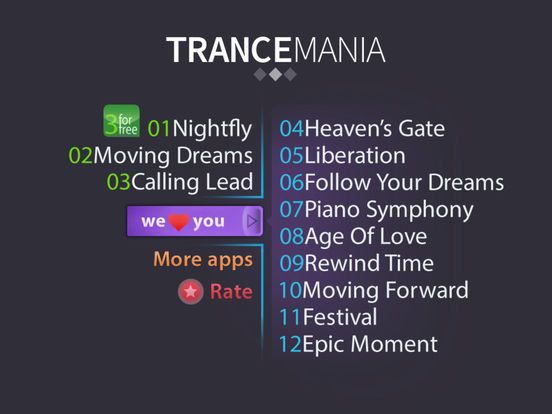 AAA³ Trancemania - The finest trance song construction kit (Premium) Screenshots