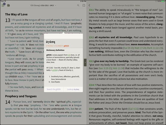 ESV Bible for BibleReader iPad Screenshot 2