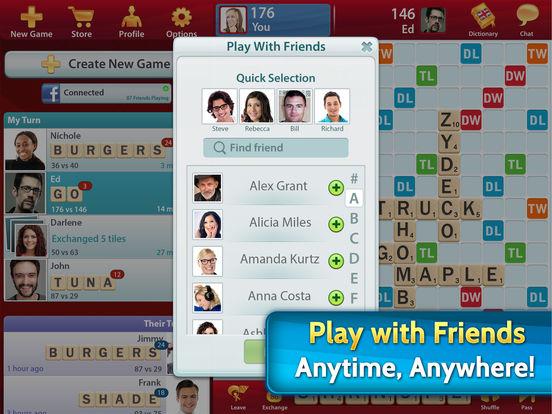 SCRABBLE Free screenshot