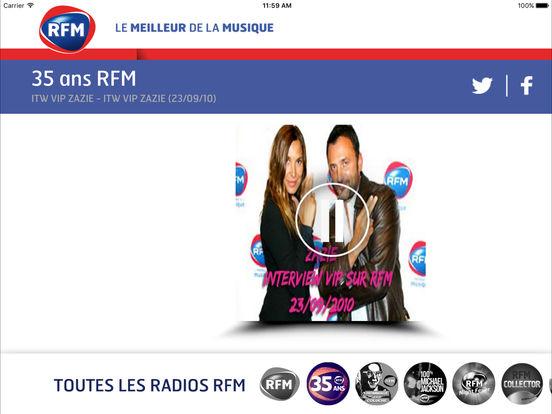 RFM : le meilleur de la musique iPad Screenshot 4
