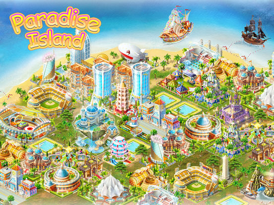 Paradise Island HD iPad Screenshot 1