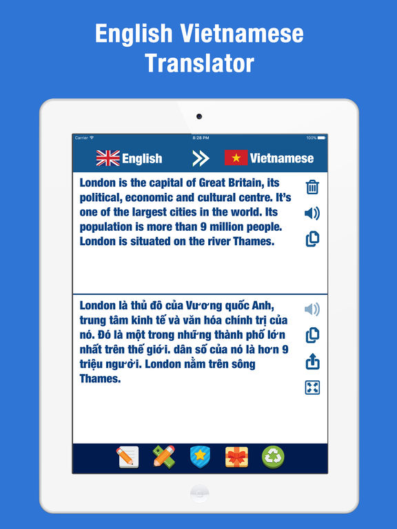 Переводчик с русского на вьетнамский язык. Вьетнам Скриншоты6