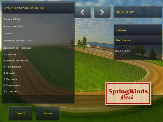 Screenshots of Race Horses Champions Lite for iPad