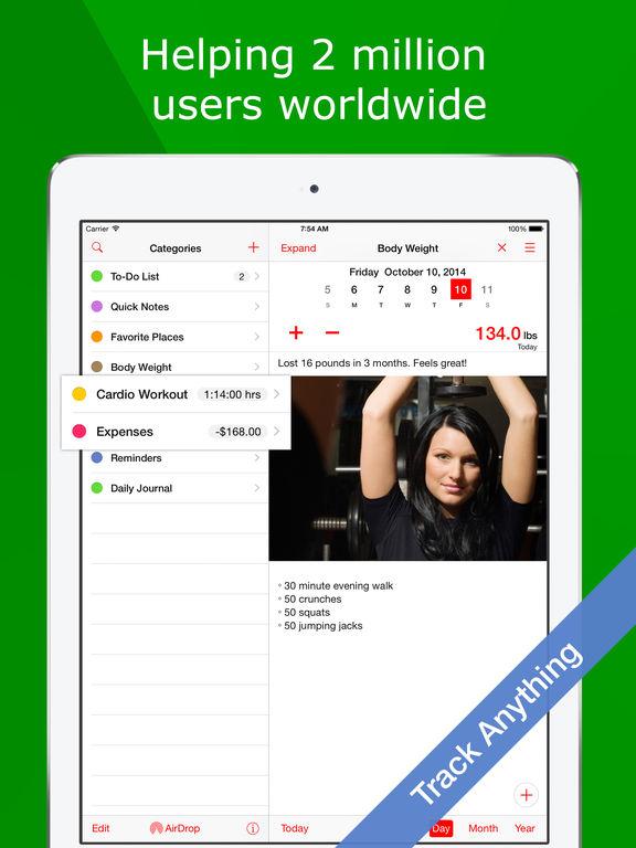 Sleep Tracker+ Mood Diary Screenshots