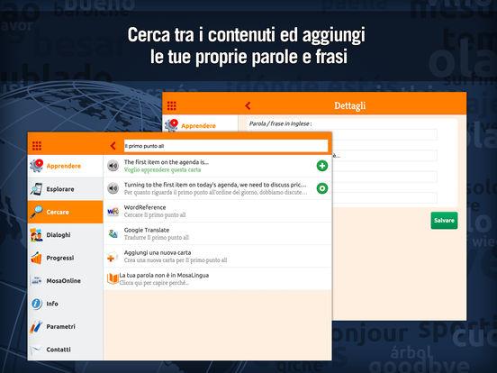 Imparare il Business English con MosaLingua Screenshots
