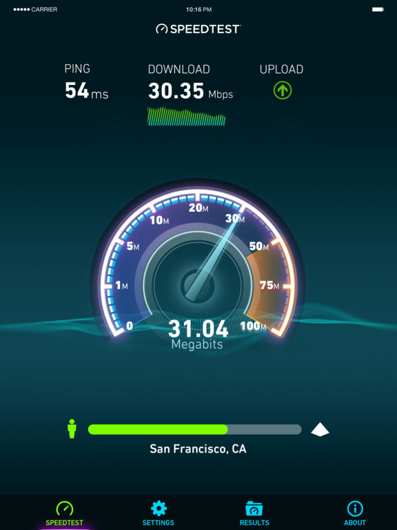 Speedtest by Ookla Screenshots