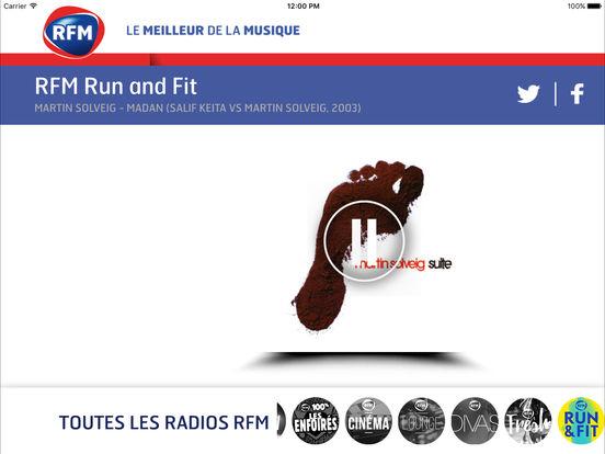 RFM : le meilleur de la musique iPad Screenshot 3