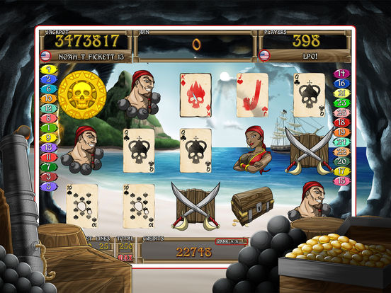 Screenshot 1 Slots of the Caribbean HD Free