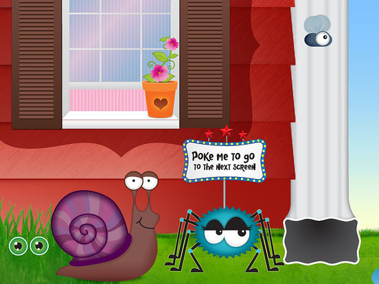 Itsy Bitsy Spider HD - by Duck Duck Moose iPad Screenshot 1