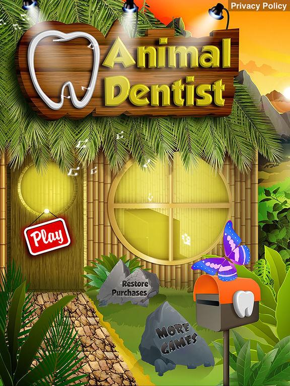 Animal Dentist - Little Baby Pet Doctor Kids Gamesscreeshot 4