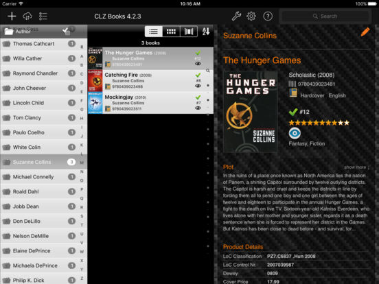 Clz Books iPad Screenshot 1