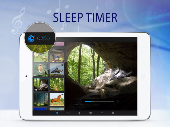 Sleep Pillow Ambiance: a white noise machine lite iPad Screenshot 4