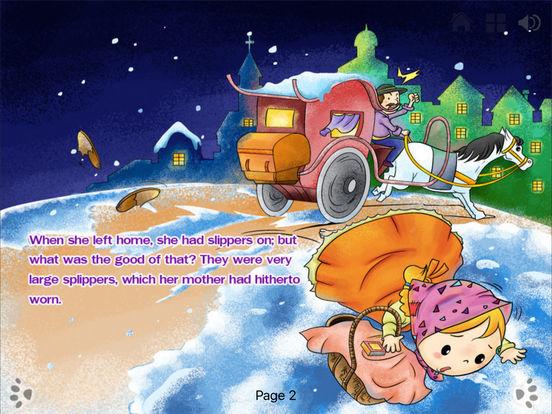 iBigToy Interactive Book-The Little Match Girl HD Lite iPad Screenshot 2