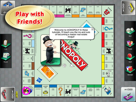 MONOPOLY for iPad iPad Screenshot 2