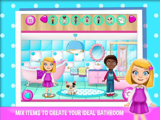 App shopper doll house games for girls design your play for Home design games for girls