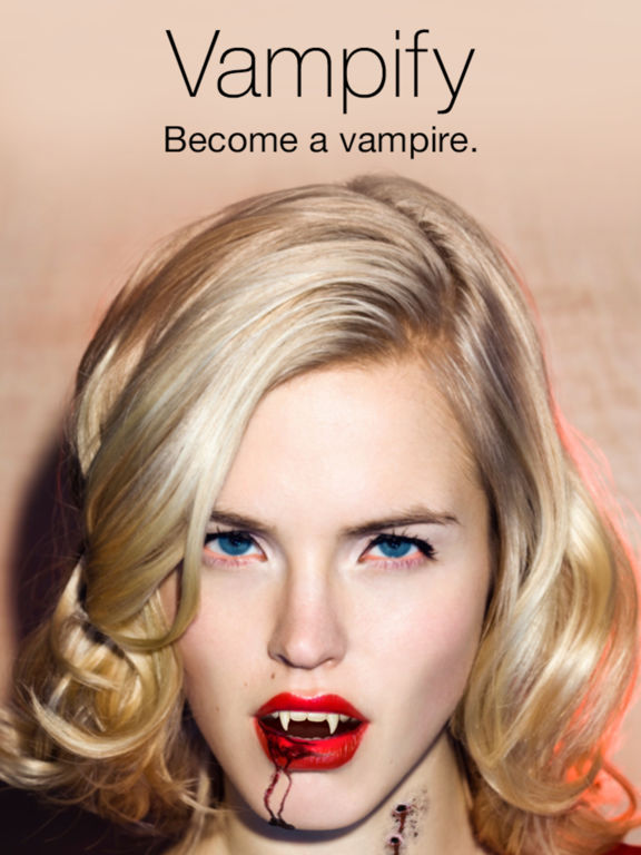 Vampify - Turn yourself into a Vampire Screenshots