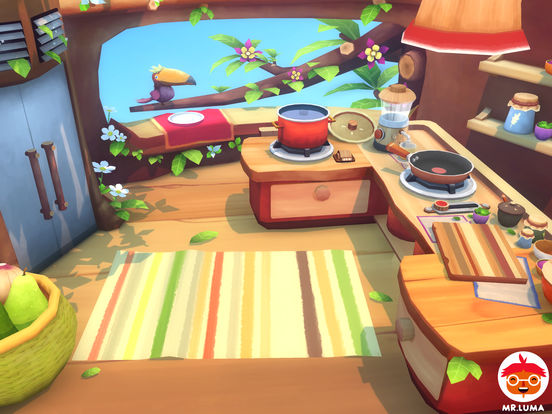 Mr. Luma Cooking Adventure для iPad