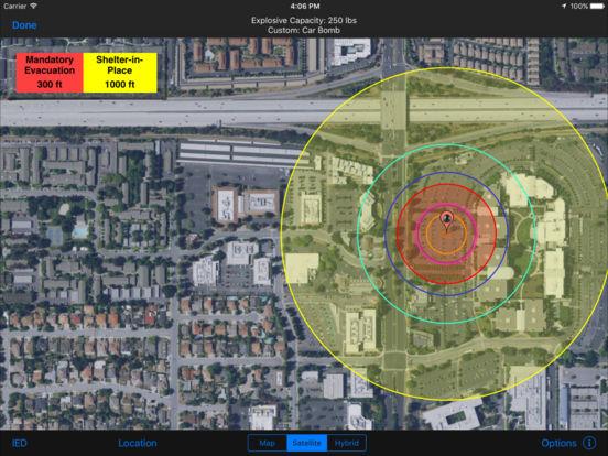 HAZMAT Evac iPad Screenshot 1