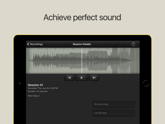 AmpKit iPad Screenshot 5