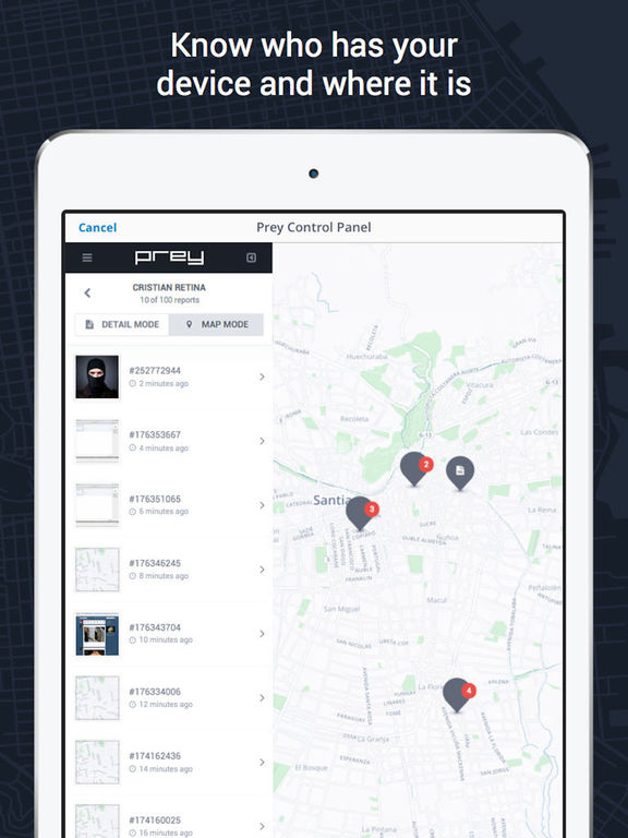 Prey Anti Theft – Tracking and Find your Devices screenshot