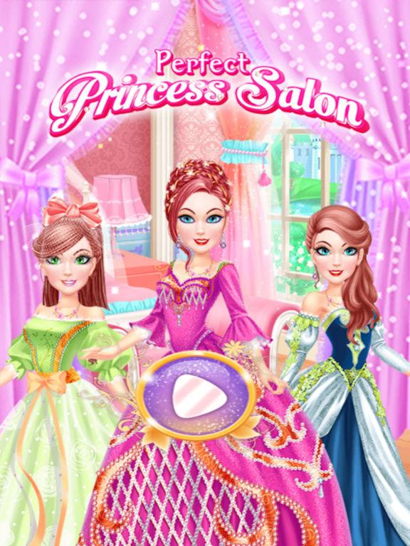 Perfect Princess Salon Makeover screenshot 6