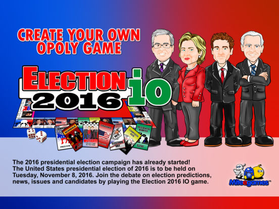 Election 2016 io (opoly) Screenshots