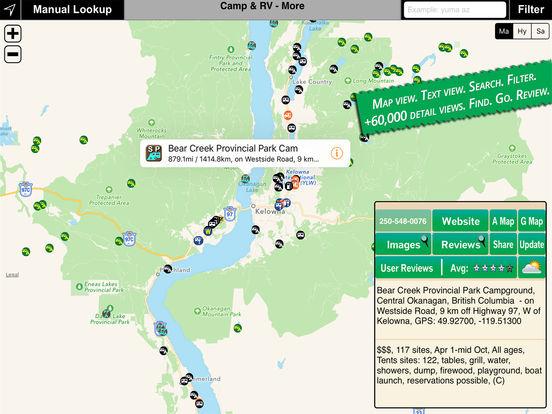 Camp & RV iPad Screenshot 1