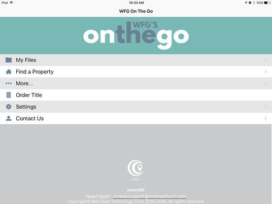ITC On The Go iPad Screenshot 1