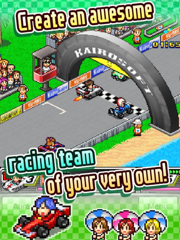 Grand Prix Story Screenshots