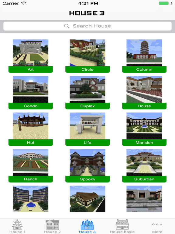 App shopper house building ideas guide for minecraft pe House building app