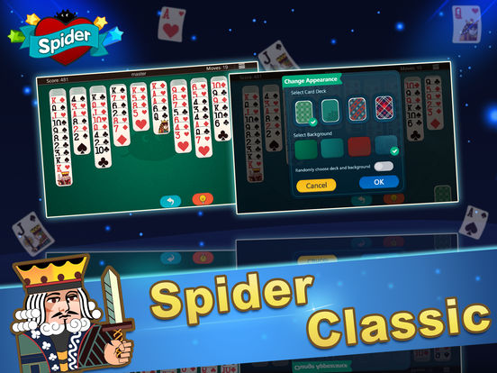 Ace Spider Unlimited Free HD iPad Screenshot 3