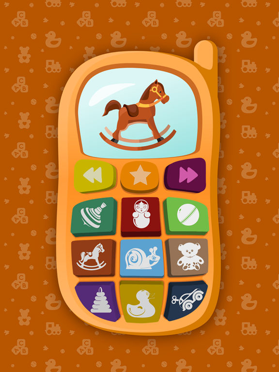 Baby Phone - Educational Sound Game for Toddlersscreeshot 5