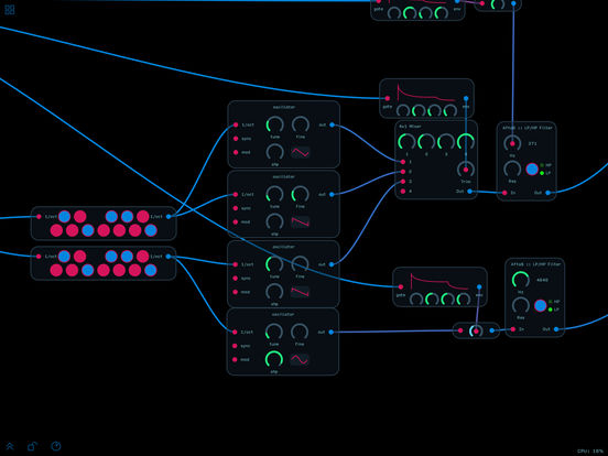 Audulus 3 Screenshots