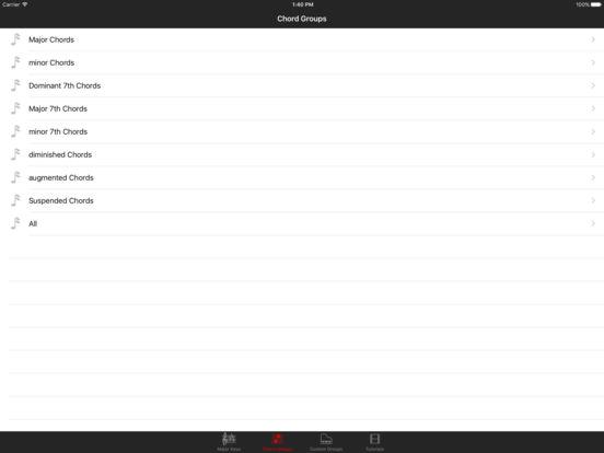 Piano Chord Key iPad Screenshot 3