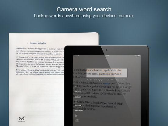 Collins English Dictionary Unabridged iPad Screenshot 3