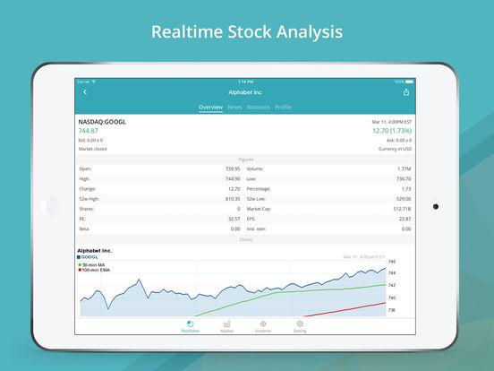 GoFinance for Google Finance: Stock Market Game Screenshots