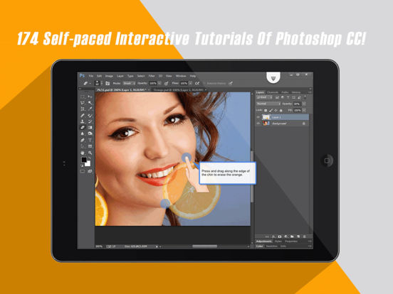 Interactive Tutorials for Photoshop CC Screenshots