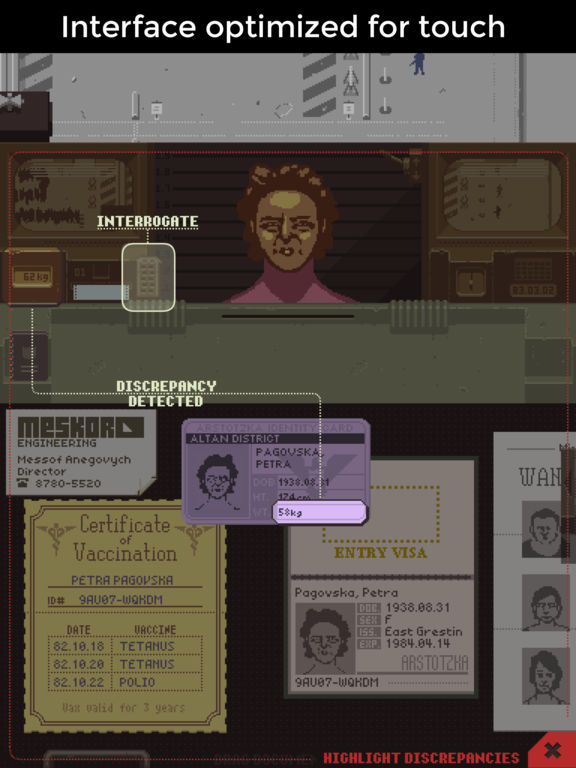Papers, Please. Скрин 4